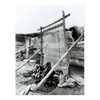 Navajo weavers c 1914 postcards