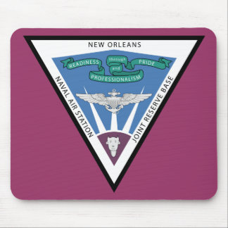 Naval Air Station - New Orleans Mouse Mat