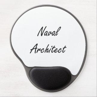 Naval Architect Artistic Job Design Gel Mouse Pad