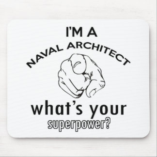 naval architect design mouse pad