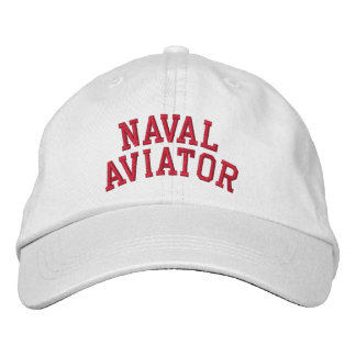 Naval Aviator Embroidered Cap