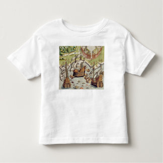 Naval Battle between the Portuguese and French Toddler T-Shirt
