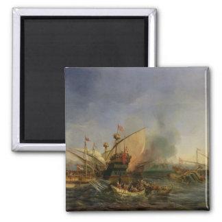 Naval Battle of Episkopi in 1323, 1841 Square Magnet