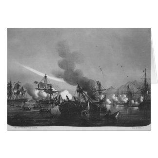 Naval battle of Grand Port, Mauritius, in 1810 Card