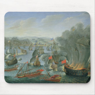 Naval Battle with the Spanish Fleet Mouse Mat