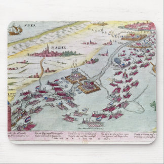 Naval Combat off the Coast of The Hague Mouse Pad