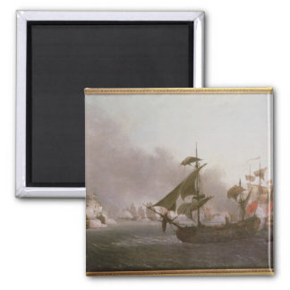 Naval Combat off the Isle of Grenada Refrigerator Magnets