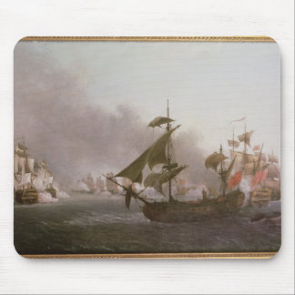 Naval Combat off the Isle of Grenada Mouse Pad