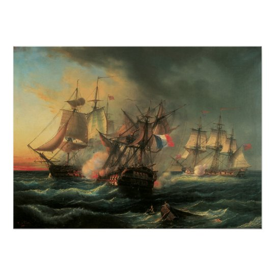 Naval Combat - Rights of Man and Indefatigable