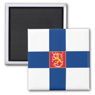 Naval Ensign Of Finland, Finland flag Refrigerator Magnets