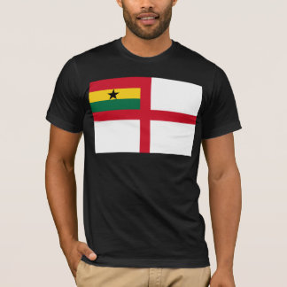 Naval Ensign Of Ghana, Ghana flag T-Shirt