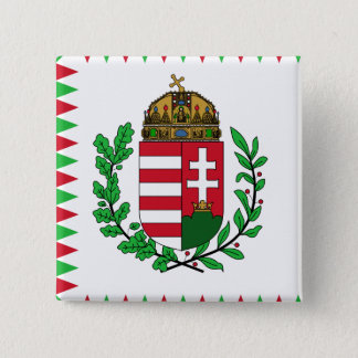 Naval Ensign Of Hungary, Hungary flag 15 Cm Square Badge