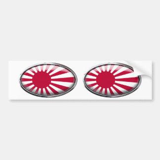 Naval Ensign of Japan Bumper Sticker