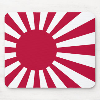 Naval Ensign of Japan flag Mouse Pad