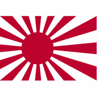 Naval Ensign Of Japan, Japan Acrylic Cut Out