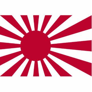 Naval Ensign Of Japan, Japan Standing Photo Sculpture