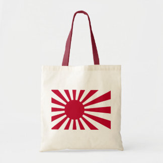 Naval Ensign of Japan - Japanese Rising Sun Flag Tote Bag