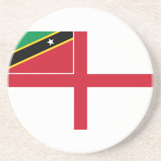 Naval Ensign Of Saint Kitts And Nevis, Russia Coaster