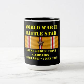 Naval Group China Campaign Two-Tone Coffee Mug