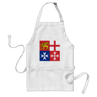 Naval Jack Italy, Italy Standard Apron
