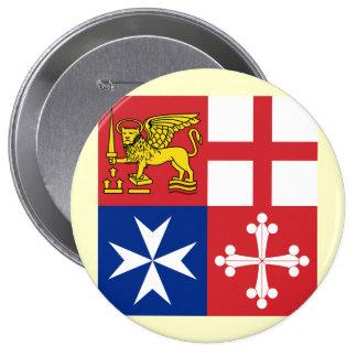 Naval Jack Italy Italy Pin