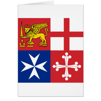 Naval Jack Italy, Italy Greeting Card