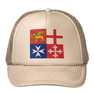 Naval Jack Italy Italy Trucker Hats