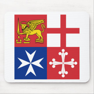 Naval Jack Italy, Italy Mouse Pad
