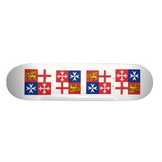 Naval Jack Italy Italy Custom Skateboard