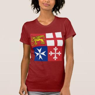 Naval Jack Italy, Italy T Shirts