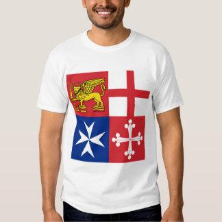 Naval Jack Italy, Italy Tshirts