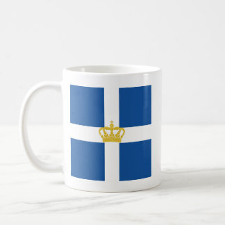 Naval Jack Kingdom Greece, Greece Coffee Mug