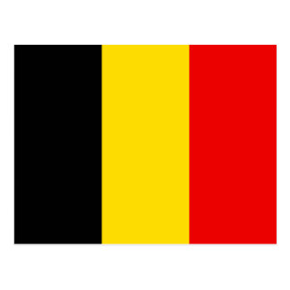 Naval Jack Of Belgium, Belgium flag Postcard
