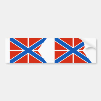 Naval Jack Of Russia, Russia flag Bumper Stickers