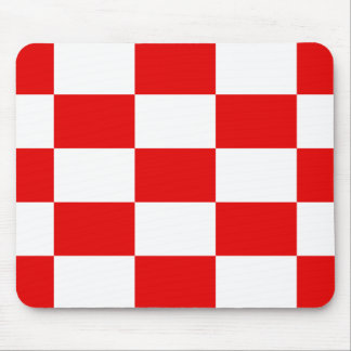 Naval Jack Of The Independent State Of Croatia, Cr Mouse Mat