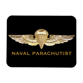Naval Parachutist Flexible Magnets