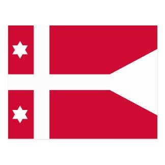 Naval Rank Denmark – Admiral, Denmark Postcard