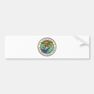 Naval sticker Special Warfare Bumper Sticker