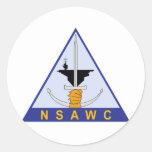 Naval Strike and Air Warfare Centre (NSAWC) Round Sticker