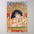 Navaneeta Krishna Painting Poster