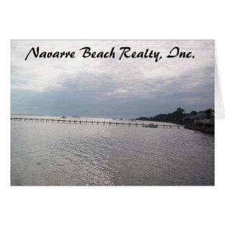 navarre beach  card