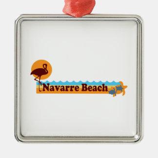 Navarre Beach. Christmas Ornament
