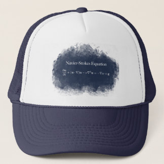 Navier Stokes Equation Math & Science Trucker Hat