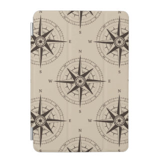 Navigation Compass Pattern iPad Mini Cover
