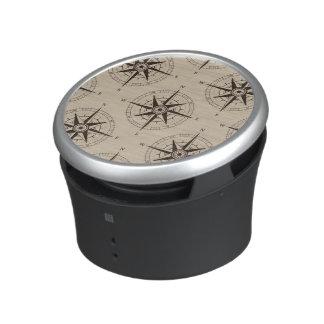 Navigation Compass Pattern Bluetooth Speaker