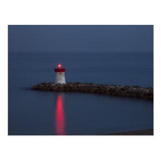Navigation Light Postcard
