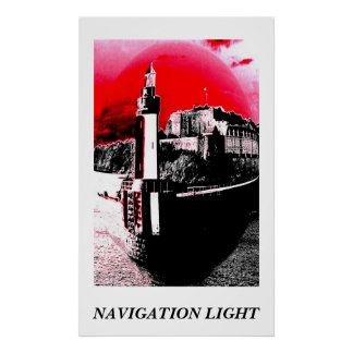 NAVIGATION LIGHT POSTER