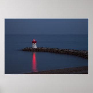 Navigation Light Print