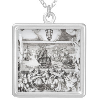Navigation Titlepage, 1600 Silver Plated Necklace