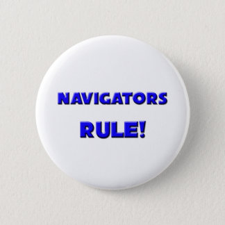 Navigators Rule! 6 Cm Round Badge